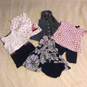 Baby Girl 3 mo. Summer Outfits